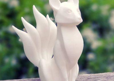 Kitsune Statuette