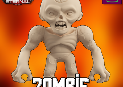 Doom Eternal Zombie Collectible Figurine