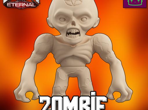 Doom Eternal Zombie Collectible Figurine