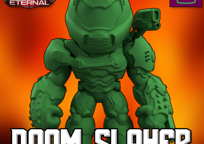 DOOM ETERNAL DOOM SLAYER COLLECTIBLE FIGURINE